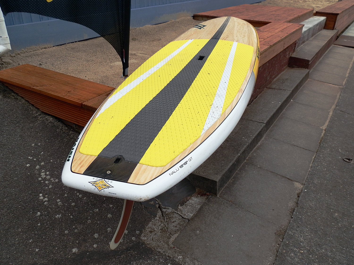 SUP Board Verleih Anleger Hamburg