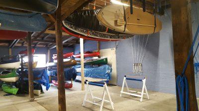 SUP Ganzjahreslager für alle die keine Lust auf schleppen durch´s Treppenhaus haben