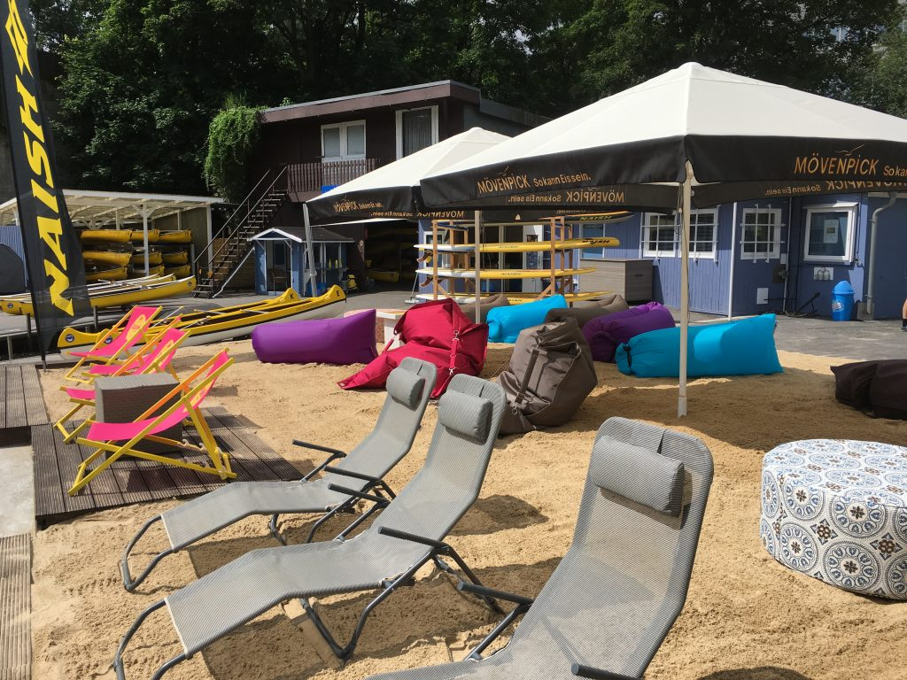 Beach Club am Anleger Hamburg