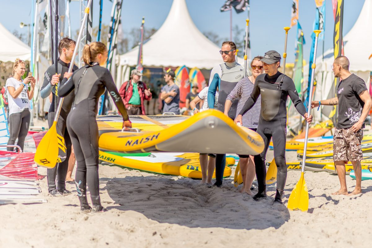 Der coole Beachclub in Hamburg erweitert sein SUP Sortiment