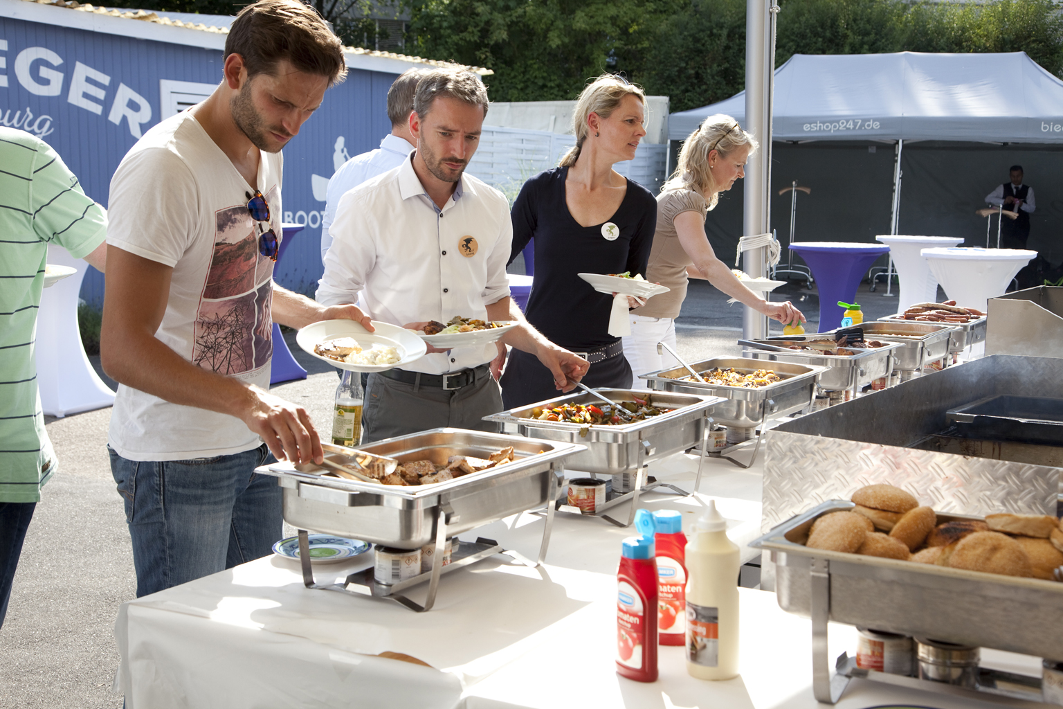 BBQ Buffet am Anleger Hamburg