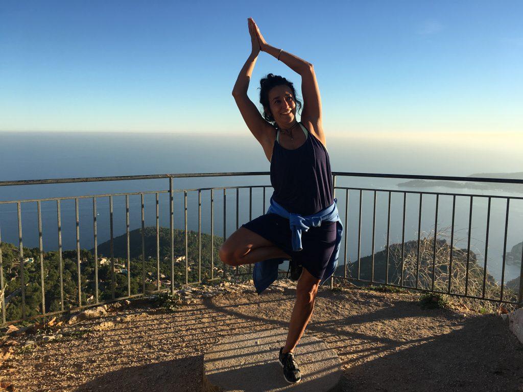 Yoga an Hamburgs Alster
