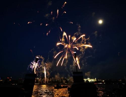 Event-Tipp: Kirschblütenfest-Feuerwerk am 31. Mai vom Drachenboot aus!